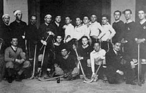 La prima squadra di Hockey - 1920